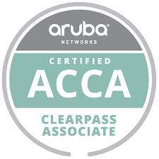 Aruba Networks Certified ACCA Clearpass Associate