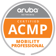 Aruba Networks Certified ACMP Mobility Professional