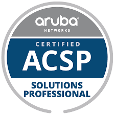 Aruba Networks Certified ACSP Solutions Professional